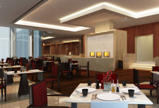 The Oberoi Hotel Gurgaon Restaurant