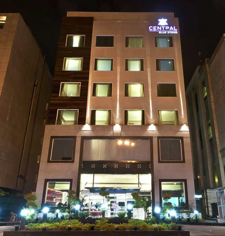 Central Blue Stone Hotel Gurgaon